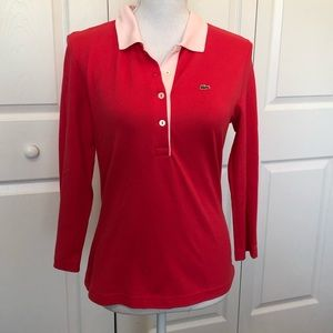 Lacoste Top Pink 42